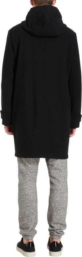 Barena Venezia Hooded Double-Breasted Coat