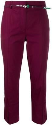 Emilio Pucci Split-Hem Cropped Trousers