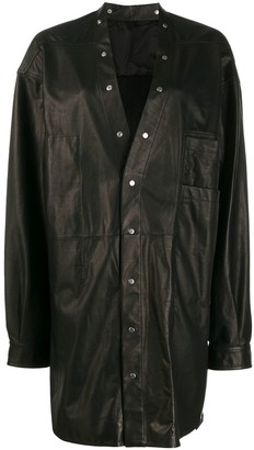 Rick Owens Larry mid-length coat