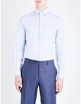 Canali Striped Modern-fit Cotton Shirt