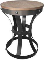 Bed Bath & Beyond Rustee Rustic Metal with Wood Top Table