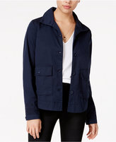 Jessica Simpson Greta Embroidered Denim Jacket