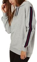 Swell Hoodies Ana Stripe Pullover Hood - Grey Marle