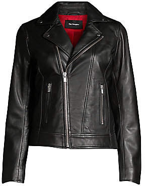 The Kooples Women's Moto Leather Jacket