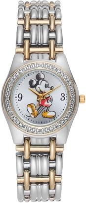 Disney Disney's Mickey Mouse Women's Two Tone Watch