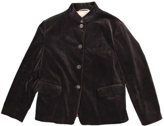 Jil Sander Grey Velvet Jackets