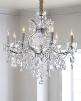 Horchow Crystal Drop 9-Light Chandelier