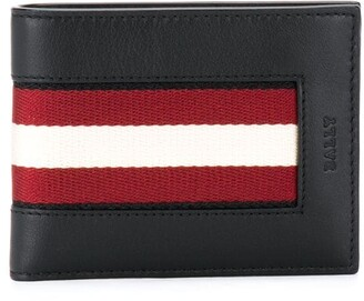 Bally Intarsia Stripe Billfold Wallet