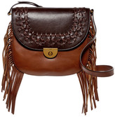 Fossil Emi Fringe Leather Crossbody