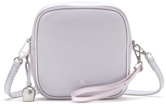Bell&Fox Marlo Leather Mini Square Crossbody / Wristlet