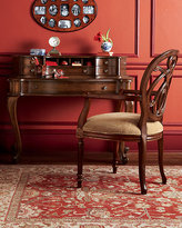 Petite Secretary Desk & Jennifer Arm Chair