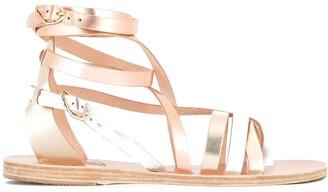 Ancient Greek Sandals Ankle Strap Flat Sandals