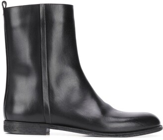 Maison Margiela Side Zip Ankle Boots