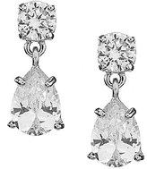 Givenchy Cubic Zirconia Double-Drop Earrings
