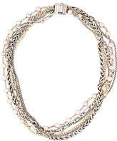 David Yurman Multi-Chain Pearl Necklace