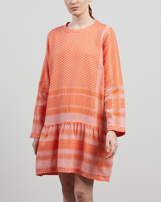 Cecilie Copenhagen Women's Pink Mini Dresses - Dress 2 O Long Sleeves - Size S at The Iconic