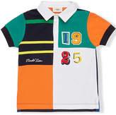 Fendi printed polo shirt