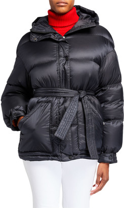 Perfect Moment Oversized Self-Tie Puffer Parka