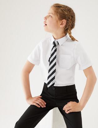 Marks and Spencer 2pk Girls' Non-Iron School Blouses