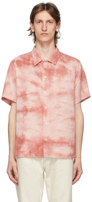 Saturdays NYC Pink Alpons Miner Wash Shirt