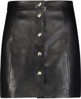 IRO Leather mini skirt