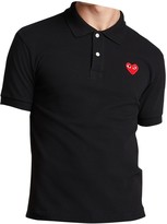 Play Comme Des Garã§Ons Play Comme Des GarAons Navy Cotton Polo shirts