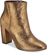 Kensie Leopolda Block-Heel Booties Women's Shoes