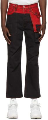 Feng Chen Wang Black Levis Edition Denim Jeans