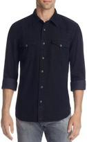 Jean Shop Garth Black Wash Regular Fit Button-Down Shirt