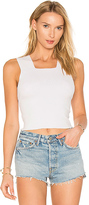 KENDALL + KYLIE Cross Back Tank in White. - size M (also in S,XS)
