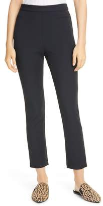 Jenni Kayne Italian Stretch Double Weave Crop Pants