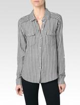 Paige Mable Shirt - Black/White Caldwell Stripe
