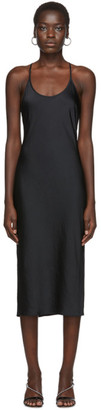 Alexander Wang Black Wash and Go Racerback Dress