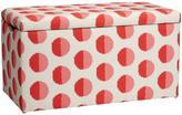 Dot Printed Storage Bench