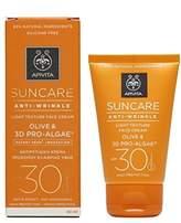 Apivita Suncare Anti-Wrinkle Light Texture Face Cream SPF 30 - 50ml