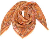 Etro Silk Abstract Printed Scarf