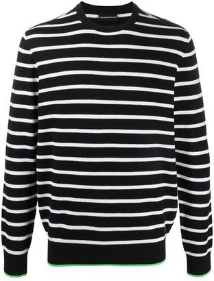 Emporio Armani Knitted Stripe Jumper