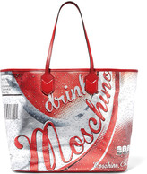 Moschino Coca-Cola printed leather tote