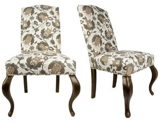 Sole Designs Queen Ann Spring Upholstered Side Chair