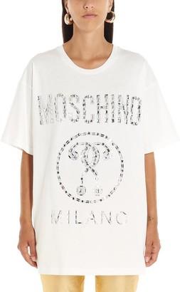Moschino Embellished Logo T-Shirt