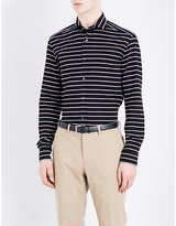 Ralph Lauren Purple Label Striped Tailored-fit Cotton Shirt
