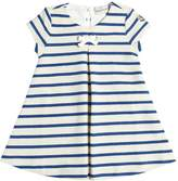 Moncler Stripe Reverse Cotton French Terry Dress