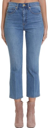 Tory Burch Jeans In Cyan Denim