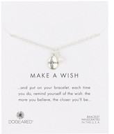 Dogeared Patience Word Sterling Silver Pebble & 2mm Freshwater Cultured Pearl Charm Bracelet