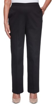 Alfred Dunner Riverside Drive Twill Pull-On Pants