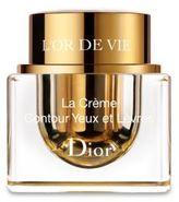 Christian Dior L'Or de Vie La Creme Yeux et Levres/ 0.5 oz.