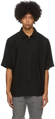 Ami Alexandre Mattiussi Black Summer Fit Short Sleeve Shirt