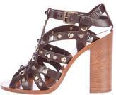 Dolce & Gabbana Bianca K 105 Stud Sandals w/ Tags