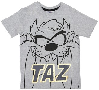Fabric Flavours Taz Print Cotton Jersey T-shirt