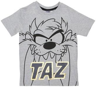 Fabric Flavours Taz Print Cotton Jersey T-shirt